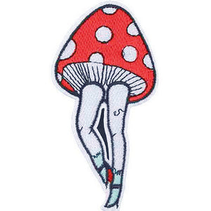 Patch / Applique - Sew / Iron - Toadstool Legs