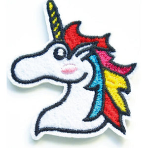 Patch / Applique - Sew / Iron - Unicorn Head Small