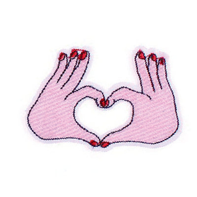 Patch / Applique - Sew / Iron - Love Hand Sign