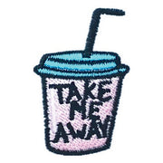 Patch / Applique - Sew / Iron - Take Me Away Cup