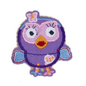 Patch / Applique - Sew / Iron - Lilac Birdie