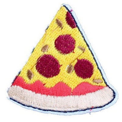 Patch / Applique - Sew / Iron - Pizza Slice