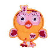 Patch / Applique - Sew / Iron - Orange Birdie