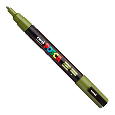 Uni POSCA Paint Pen - Khaki Green
