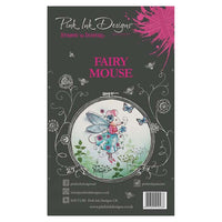 Pink Ink Designs A6 Clear Stamp Set - Fairy Mouse