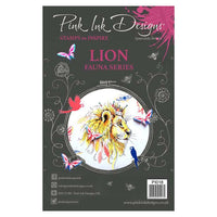 Pink Ink Designs A5 Clear Stamp Set - Lion