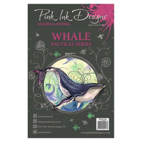 Pink Ink Designs A5 Clear Stamp Set - Whale