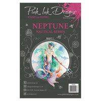 Pink Ink Designs A5 Clear Stamp Set - Neptune