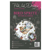 Pink Ink Designs A5 Clear Stamp Set - Bird Sprite