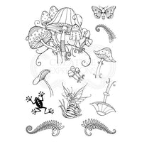Pink Ink Designs Clear Stamp - Fungi