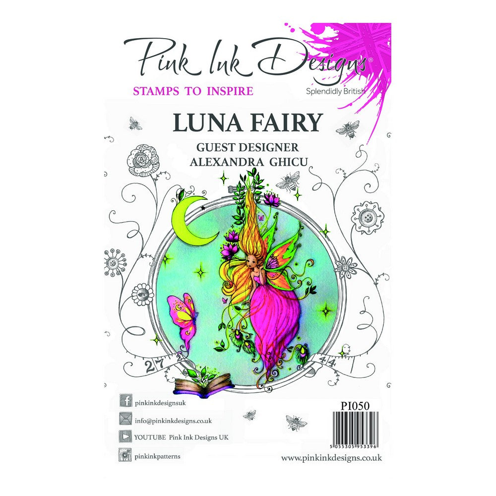 Pink Ink Designs - Stamps - Luna Fairy