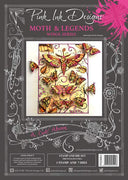 Pink Ink Designs - A Cut Above - Moth & Legends Stamp/Die Set