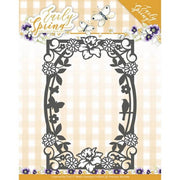 Precious Marieke - Dies - Early Spring - Spring Flowers Rectangle Frame