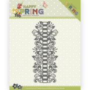 Precious Marieke - Dies - Happy Spring - Ribbon Border