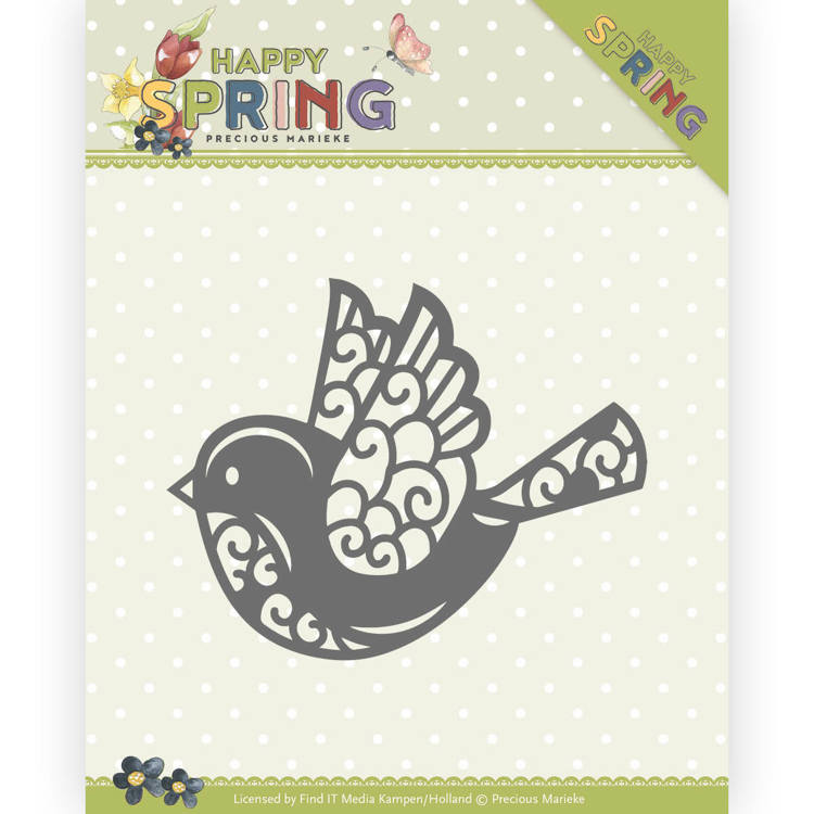 Precious Marieke - Happy Spring Collection - Happy Birdy