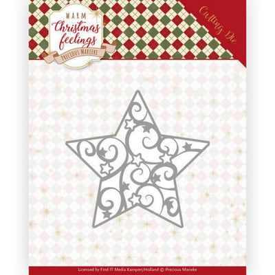 Precious Marieke - Warm Christmas Feelings - Swirl Star