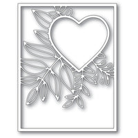 Poppystamps - Dies - Graceful Heart Frame