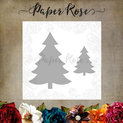 Paper Rose - Dies - Christmas Trees