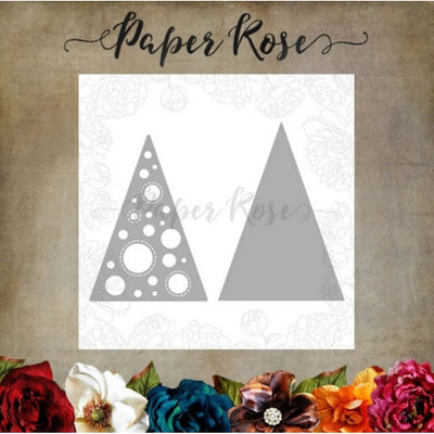 Paper Rose - Dies - Christmas Tree Spot Layered