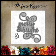 Paper Rose - Dies - Merry & Bright