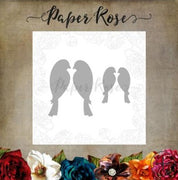 Paper Rose - Dies - Love Birds