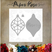 Paper Rose - Dies - Crystal Ornament Layer 1