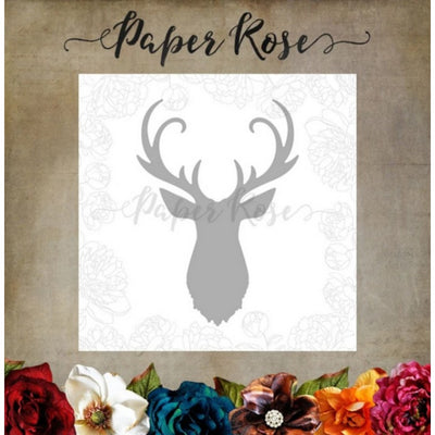 Paper Rose - Dies - Deer Head