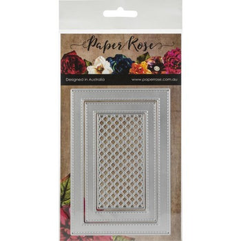 Paper Rose - Dies - Stitched Rectangle Frames