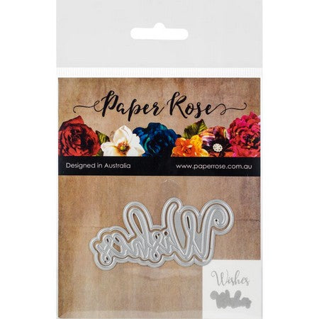 Paper Rose - Dies - Wishes Layered