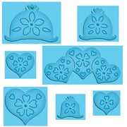 Closeout - Spellbinders - Enhanceabilities-PopUps - Hearts and Flowers