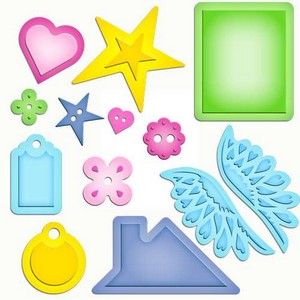 Closeout - Spellbinders - Shapeabilities - Home Sweet Home