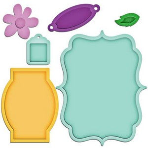Closeout - Spellbinders - Shapeabilities - Jar Labels