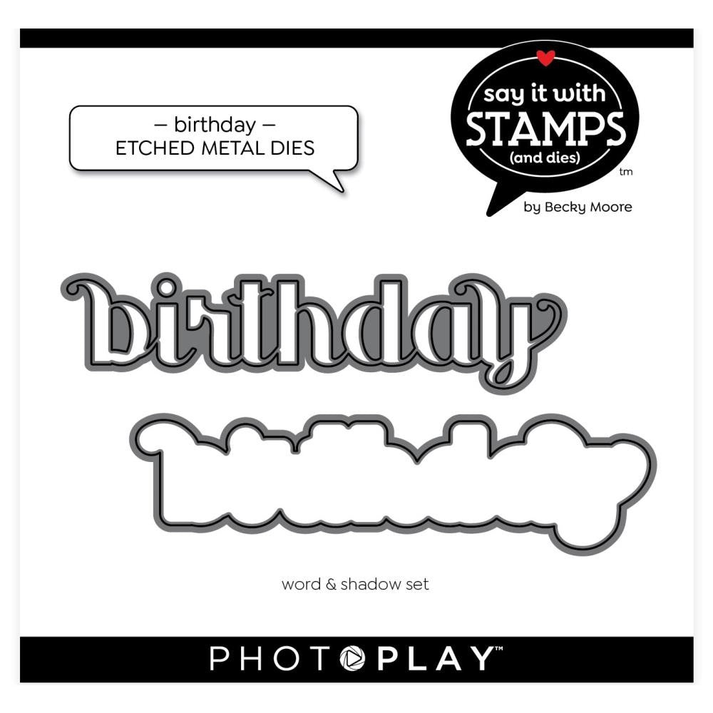 Photoplay - Dies - Birthday