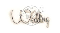 Magnolia Stamps - Special Moment Coll. - Wedding Text