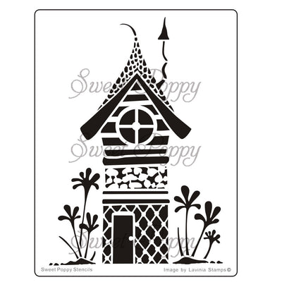 Sweet Poppy - Stencils - Fairy Zen House