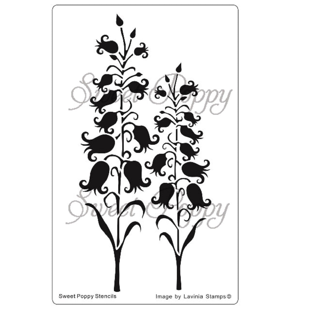 Sweet Poppy - Stencils - Fairy Bells