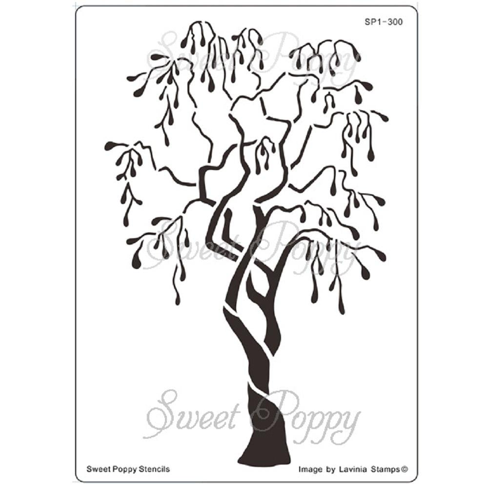 Sweet Poppy - Stencils - Tree Of Faith