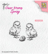 Nellie's Choice - Clear Stamp - Chicken & Easter Egg