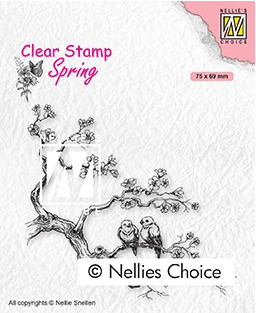 Nellie's Choice Stamps - Spring Lovers
