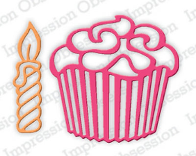 Serendipity Dies - Cupcake & Candle
