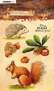 Studio Light - Clear Stamps - Wonderful Autumn  nr.479