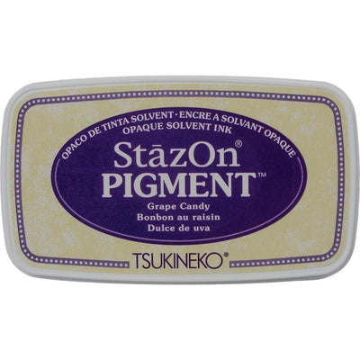 StazOn Pigment Ink Pad - Grape Candy