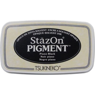 StazOn Pigment Ink Pad - Piano Black