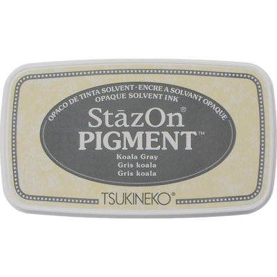StazOn Pigment Ink Pad - Koala Grey