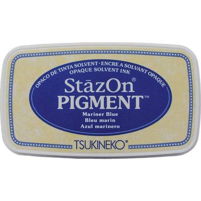 StazOn Pigment Ink Pad - Mariner Blue
