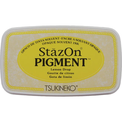 StazOn Pigment Ink Pad - Lemon Drop