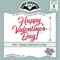 Karen Burniston - Dies - Happy Valentines Day