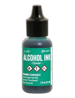 Tim Holtz - Alcohol Ink - Clover