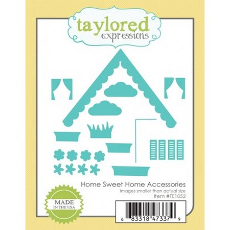 Taylored Expressions - Dies - Home Sweet Home Accessories