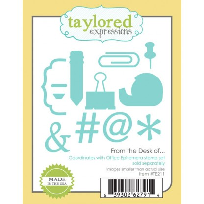 Taylored Expressions - Dies - From The Desk Of